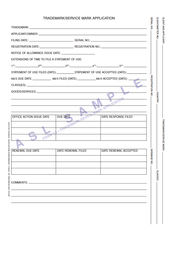 Kruysman Forms, IP Folder Forms, Custom Patent Folder Forms ...